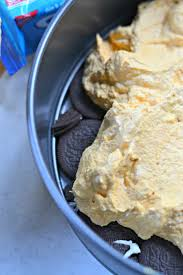 quick thanksgiving desserts oreo pumpkin icebox cake 4 hats and frugal
