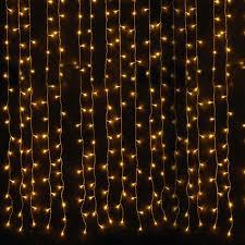 Led Light Curtain X Mxm Led Warm White Curtain Net Light Wedding Led
