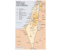 West Bank Map Maps Of Gaza Strip Detailed Map Of Gaza Strip In English