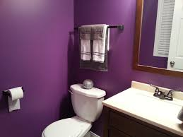 bathroom the bathroom tiles are accented with purple flowers and