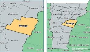 usa map vt orange county vermont map of orange county vt where is