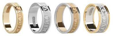 soulmate wedding ring my soulmate in gaelic wedding rings