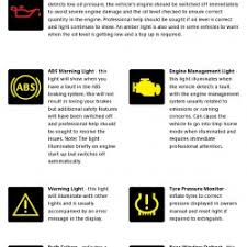 engine light turned on car dashboard warning lights understanding what they mean how to