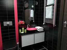 Black And White Bathrooms Ideas by Red White And Black Bathroom Accessories Best 10 Asian Bathroom
