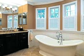 ideas for bathroom windows window treatment ideas for small bathroom window easywash club