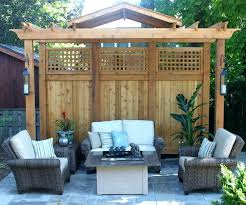 outdoor privacy screen ideas pictures apartment patio privacy