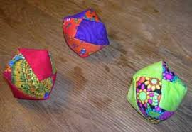 juggling bean bag pattern step by step instructions to make