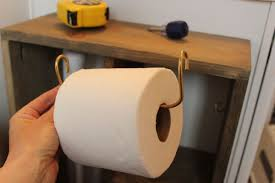 simple hang toilet paper diy brass holder roll ideas targovci com