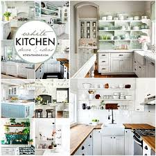 White Kitchen Decor Ideas The 36th AVENUE