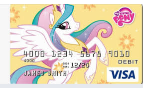 Design My Debit Card My Little Pony Debit Cards Are A Thing U2013 The Southern Nerd