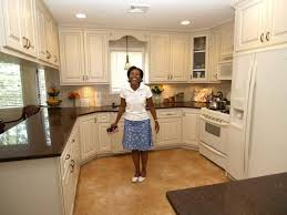 Kitchen Cabinet  Beautiful White Kitchen Cabinets Design - Kitchen cabinets refinished