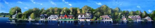 Boat House Row - shop joe sweeney art