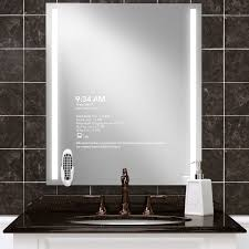 mirrorvue vanity mirror tv for single sinks