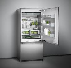 Types Of Grey Color by Refrigerator Inside The Fully Integrated Paneled Appliances With