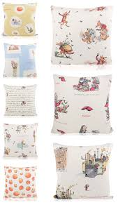 Chocolate Cushion Covers Roald Dahl Themed Story Cushion Covers Furniture Checklist
