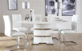 Contemporary White Dining Room Sets - modern dining sets furniture choice