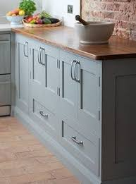 Gray Kitchen Cabinets Benjamin Moore by Cabinet Paint Color Is River Reflections From Benjamin Moore