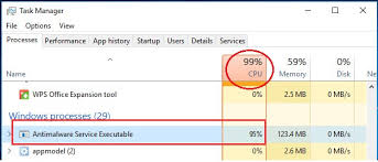 is pubg cpu intensive antimalware service executable high cpu on windows 10 solved
