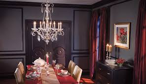Elegant Dining Room Crystal Chandelier Traditional Dining - Dining room crystal chandelier