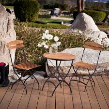 Small Outdoor Bistro Table Magnificent French Style Bistro Table And Chairs Best Small