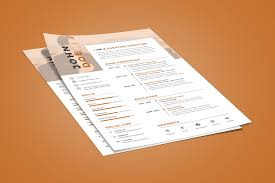 Good Resume Design Executive Resume Design How To Make Your Resume Stand Out Visual