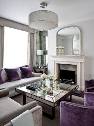 30 mirrored coffee tables that add a sparkle to your home art deco living room with splashes of purple and mirrored coffee table design gemma