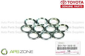 lexus car parts singapore lexus oil transmission pan drain plug genuine gasket set 10 oem