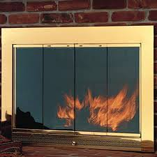 replace fireplace doors majestic replacement glass doors