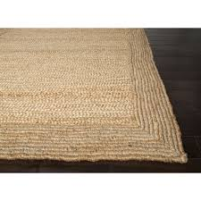 Jute Area Rug Jaipur Rugs Naturals Solid Pattern Ivory White Jute Area Rug Nat03