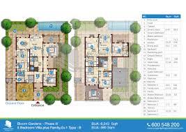 phase iii floor plans of bloom gardens