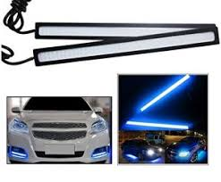best led daytime running lights buy autoright daytime running lights cob led drl blue for maruti
