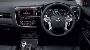 mitsubishi delica 2016 interior 2016 mitsubishi outlander phev facelift breaks cover with more