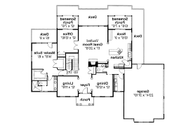 Brick Colonial House Plans by Colonial House Plans Siex