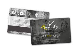 Membership Cards Design Beyrouths Restaurant Discount Card Design Exist Creative