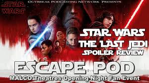 opening night fan event star wars the last jedi episode 51 star wars the last jedi opening night fan event youtube