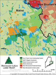 Brunswick Ohio Map by Funding Conservation With Carbon Sequestration Downeast Lakes
