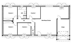plan maison 7 chambres 34 plan maison 50m2 1 chambre idees