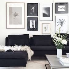 Black Sofa Interior Design by Best 25 White Lounge Ideas On Pinterest Black And White
