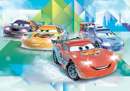 Cars Wall Mural by Disney Cars Lightning Mcqueen Camino Wall Paper Mural Buy At
