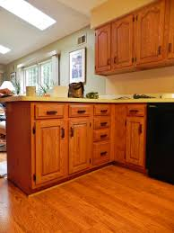 how to refinish kitchen cabinets that are not wood home design