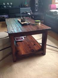 coffee tables astonishing diy pallet coffee table instructions