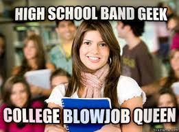 Band Geek Meme - livememe com sheltered college freshman