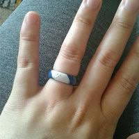 qalo wedding bands qalo men s silicone wedding ring black grey navy blue maroon