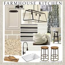 farmhouse style kitchen design plan meadow lake road