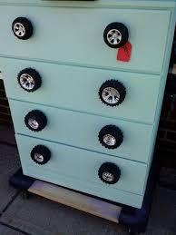 Bedroom Dresser Pulls Dresser With Car Wheels For Drawer Pulls Kid Room