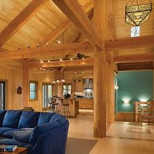 timber frame great room lighting timber frame great rooms photo gallery