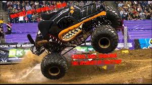 monster truck videos with music dalmatian diecast in lake erie speedway pa u part realistic jam
