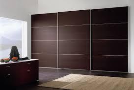 elegant brown wooden wardrobe closet with luxury dressing room