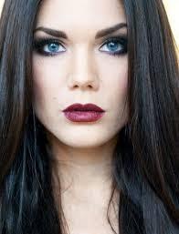 brown hair light skin blue eyes dark brown hair blue eyes makeup google search marion cotillards
