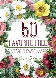 free flowers 50 favorite free vintage flower images the graphics fairy